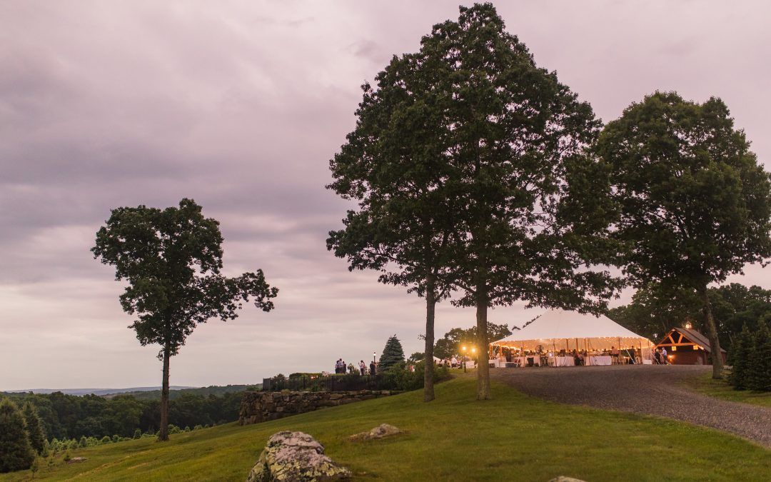Overlook at Geer Tree Farm Wedding for Alex and Katie