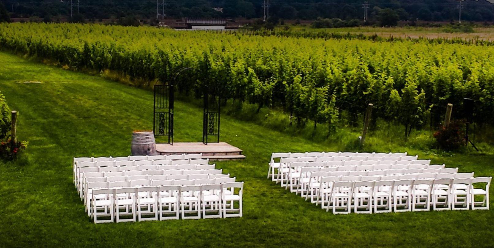 Saltwater Farm Vineyard Unique Wedding Venues in CT